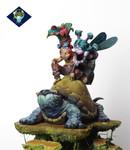 Aradia Miniatures - Sina and the Knight