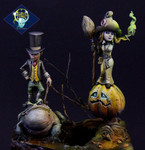 Aradia Miniatures - Sina and the Knightmare