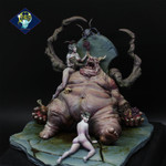 Aradia Miniatures - Ciacco, King of Gluttons