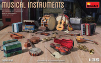 Miniart Models - Musical Instruments