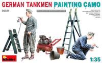Miniart Models - German Tankmen Painting Camo