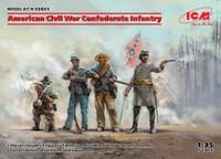 ICM Models - American Civil War Confederate Infantry