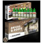 Scale 75 - Bricks and Roofs Paint Set
