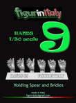 Figureinitaly Miniatures - Hands 9 (1/30th scale)