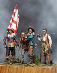 Benito Miniatures - Spanish Tercio Group
