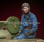 Alpine Miniatures - Russian Tank Commander Set