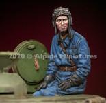 Alpine Miniatures - Russian Tank Commander Set