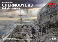 ICM Models - Chernobyl #3: Rubble Cleaners Diorama Set