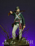 FeR Miniatures - Butler's Rangers Sergeant, 1779