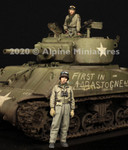 Alpine Miniatures - WWII U.S Tank Commander Set