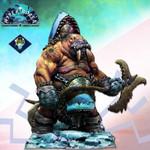 Aradia Miniatures - Fynnar, The Arctic Minotaur