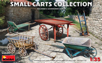 Miniart Models - Small Carts Collection