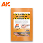 AK Interactive - Carving Foam 8mm A5 Size (228 X 152 mm)