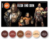 AK International - 3rd Gen  Flesh and Skin Colors