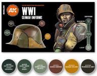 AK Interactive: 3rd Gen - WWI German Uniforms Set