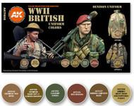 AK Interactive: 3rd Gen - WWII British Uniform Set