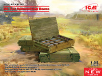 ICM Models - RS132 Ammunition Boxes (4) w/Shells (16)
