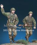 Alpine Miniatures - Waffen SS Grenadier Set, 1944