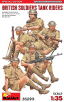 Miniart Models - British Soldiers Tank Riders, Special Edition