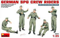Miniart Models - German SPG Crew Riders