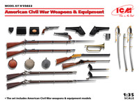 ICM Models - U. S. Civil War Weapons and Equipment