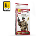 AMMO of MiG - WWII US Paratroopers Uniforms Acrylic Paint Set