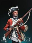 FeR Miniatures: Magna Historic - Private, 8th Regiment of Foot Les Cèdres, 1776