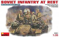 Miniart Models - Soviet Infantry at Rest