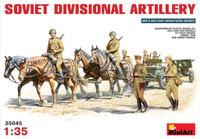 Miniart Models - Soviet Divisional Artillery