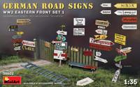 Miniart Models - German Road Signs WW2 (Eastern Front Set 1)