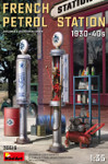 Miniart Models - French Petrol Station 1930-40's