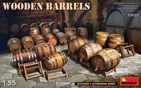 Miniart Models - Wooden Barrels