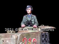 Alpine Miniatures - Otto Carius, WWII Heer Panzer Ace