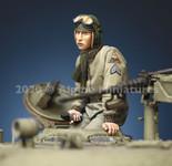 Alpine Miniatures - WWII U.S Tank Commander #2
