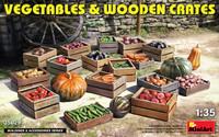 Miniart Models - Vegetables & Wooden Crates
