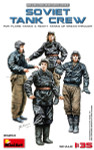 Miniart Models - WWII Soviet Tank Crew (for Flame Tanks and Heavy Tanks of Breakthrough)