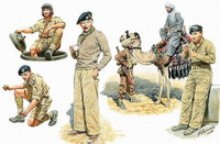 Masterbox Models - Commonwealth AFV Crew w/Camel