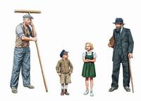 Masterbox Models - WWII Civilians, Western Region