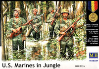 Masterbox Models - WWII USMC in Jungle