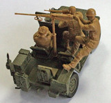 Masterbox Models - Charlie on Left! US Jeep Crew (3) & Viet Cong