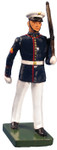 Wm. Britain - United States Marine Corps Marching, Summer Dress, Left Shoulder