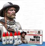 Andrea Miniatures - White Paint Set