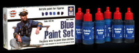Andrea Miniatures - Blue Paint Set