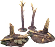 Wm. Britain - WWI Tree Stumps