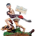 Andrea Miniatures: A Wonderful World - Running Away