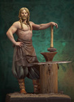 Andrea Miniatures: The Vikings - Norse Blacksmith, 750 AD