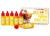 Andrea Miniatures - Yellow Paint Set