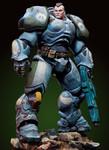 Andrea Miniatures: Dark Nova - Sgt. Connor, Serpentian Heavy Infantry