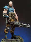Andrea Miniatures: Dark Nova - Gabriel Blackburn, Serpentia Commando
