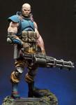 Andrea Miniatures: Dark Nova - Gabriel Blackburn, Serpentia Commando
